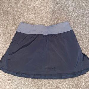 Grey lululemon tennis skirt